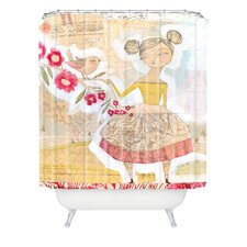 <strong>DENY Designs</strong> Cori Dantini Woven Polyester The Secret To Happiness Shower Curtain