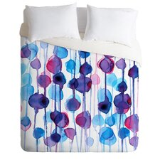 CMYKaren Lightweight Abstract Watercolor Duvet Cover