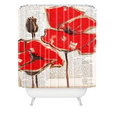 Irena Orlov Woven Polyester Perfection Extra Long Shower Curtain
