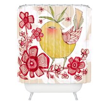 <strong>DENY Designs</strong> Cori Dantini Woven Polyester Sweetie Pie Shower Curtain