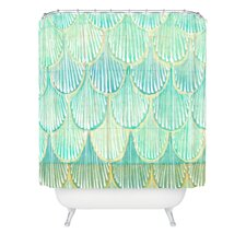 Cori Dantini Polyester Amirah Scallops Shower Curtain