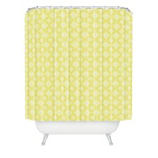Caroline Okun Spirals Polyester Shower Curtain