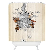 Iveta Abolina Polyester Floral 2 Shower Curtain