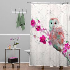 Hadley Hutton Quinceowl Polyesterrr Shower Curtain