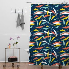 Heather Dutton Swizzlestick Party Girl Shower Curtain