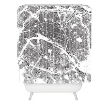 <strong>DENY Designs</strong> CityFabric Inc Woven Polyester Paris Shower Curtain