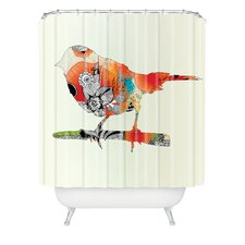 <strong>DENY Designs</strong> Iveta Abolina Polyester Little Bird Shower Curtain