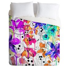 Holly Sharpe Light Weight Lost In Botanica Duvet Cover