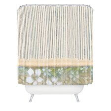 Cori Dantini Woven Polyester Stripes Extra Long Shower Curtain