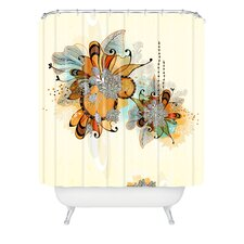 Iveta Abolina Woven Polyester Sunset Extra Long Shower Curtain