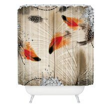 <strong>DENY Designs</strong> Iveta Abolina Polyester Feather Dance Shower Curtain