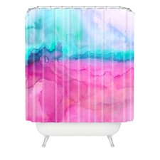 Jacqueline Maldonado Woven Polyester Tidal Color Shower Curtain