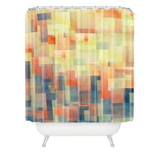 Jacqueline Maldonado Woven Polyester Cubism Dream Shower Curtain
