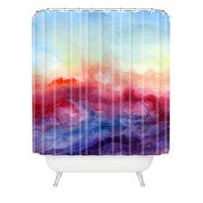 Jacqueline Maldonado Woven Polyester Arpeggi Extra Long Shower Curtain