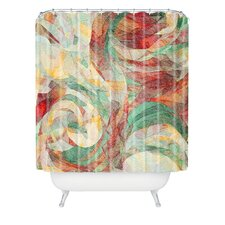 Jacqueline Maldonado Woven Polyester Rapt Extra Long Shower Curtain