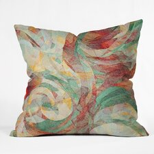 Jacqueline Maldonado Rapt Indoor / Outdoor Polyester Throw Pillow