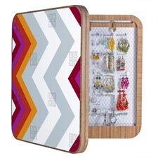 Karen Harris Modernity Solstice Warm Chevron Jewelry Box