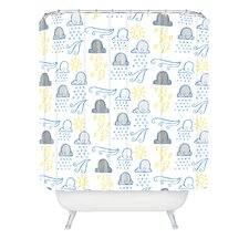 <strong>DENY Designs</strong> Jennifer Denty Woven Polyester Clouds Shower Curtain