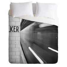 Leonidas Oxby Lightweight the Subway Duvet Cover