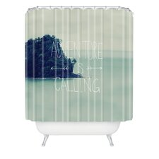 Leah Flores Adventure Island Shower Curtain