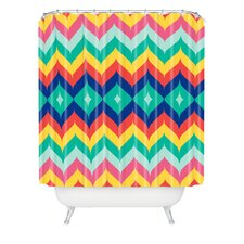 <strong>DENY Designs</strong> Juliana Curi Woven Polyester Chevron 5 Shower Curtain
