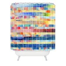 Jacqueline Maldonado Woven Polyester Amalgama Shower Curtain