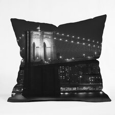 <strong>DENY Designs</strong> Leonidas Oxby Brooklyn 125 Indoor / Outdoor Polyester Throw Pillow