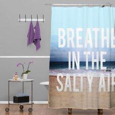Leah Flores Breathe Shower Curtain