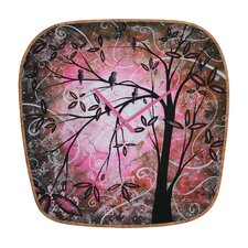 <strong>DENY Designs</strong> Madart Inc. Blossoms Wall Clock