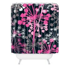 <strong>DENY Designs</strong> Rachael Taylor Polyester Cow Parsley Shower Curtain