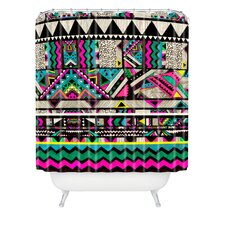 <strong>DENY Designs</strong> Kris Tate Woven Polyester Fiesta 1 Shower Curtain