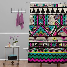 Kris Tate Woven Polyester Fiesta 1 Shower Curtain