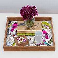 <strong>DENY Designs</strong> Mary Beth Freet Couture Home Birds Coaster (Set of 4)