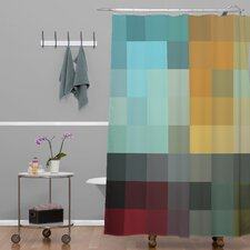 Madart Inc Woven Polyester Refreshing 2 Extra Long Shower Curtain