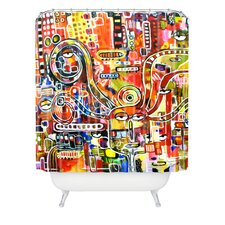 <strong>DENY Designs</strong> Robin Faye Gates Polyester It Came from Detroit Shower Curtain