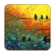 Birds of a Feather by MadArt Plaque Inc Framed Graphic Art Plaque
