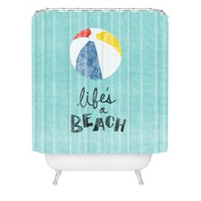 <strong>DENY Designs</strong> Nick Nelson Lifes A Beach Shower Curtain