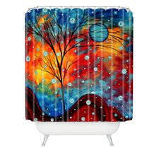 Madart Inc. Polyester Summer Snow Shower Curtain
