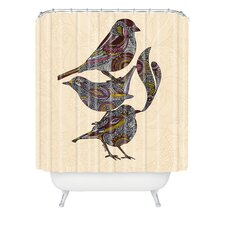 <strong>DENY Designs</strong> Valentina Ramos Woven Polyester 3 Kings Shower Curtain
