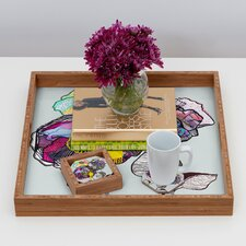 <strong>DENY Designs</strong> Mikaela Rydin Growing Coaster (Set of 4)