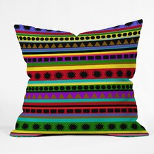 Romi Vega Heavy Pattern Indoor/Outdoor Polyester Throw Pillow