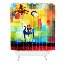 <strong>DENY Designs</strong> Robin Faye Gates Polyester Cheeze It Thank You Shower Curtain