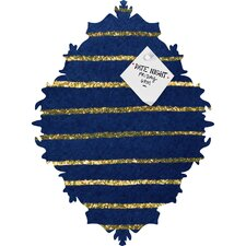 <strong>DENY Designs</strong> Social Proper Nautical Sparkle Magnet Board