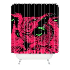 Romi Vega Polyester Owl Shower Curtain