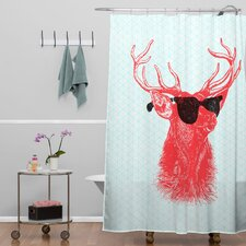 Nick Nelson Young Buck Shower Curtain