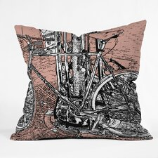 Romi Vega Polyester Bike Indoor / Outdoor Throw Pillow