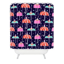 Rebekah Ginda Design Night Shower Curtain