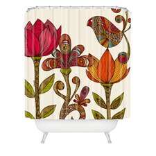 Valentina Ramos Polyester in The Garden Shower Curtain