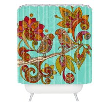 <strong>DENY Designs</strong> Valentina Ramos Polyester Hello Birds Shower Curtain