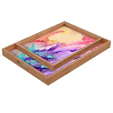 <strong>DENY Designs</strong> Rosie Brown Color My World Rectangular Tray